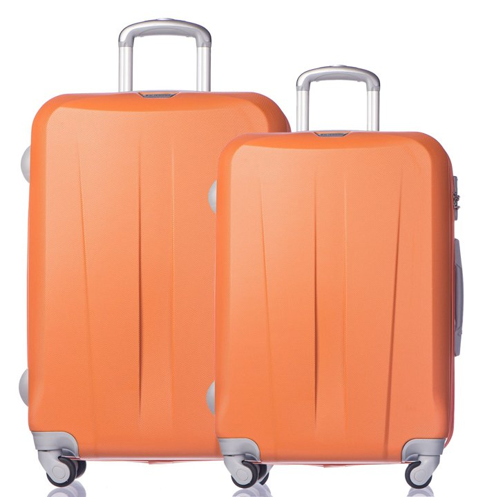 e7de8cc6057cb Zestaw walizek Paris - pomarańczowe | smartmoto.pl