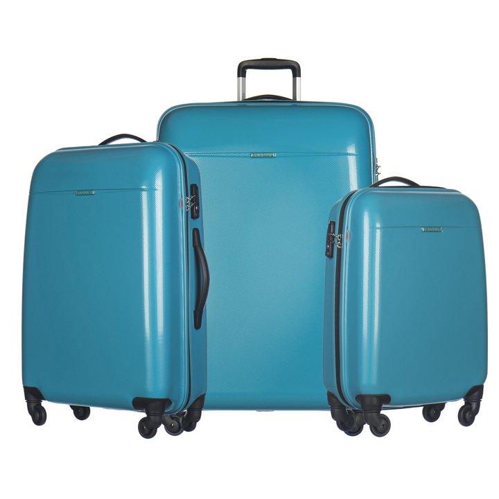 133a5c39c9583 Zestaw walizek Voyager - niebieskie | smartmoto.pl